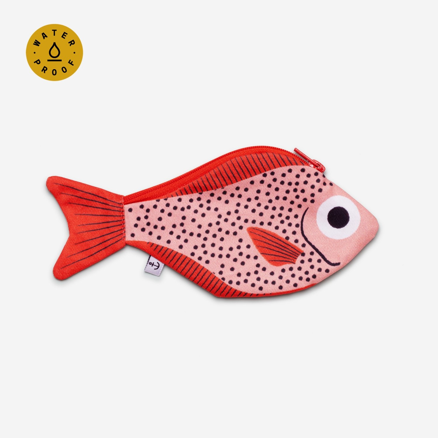 Don Fisher Don Fisher Pink  Sweeper Fish Pouch