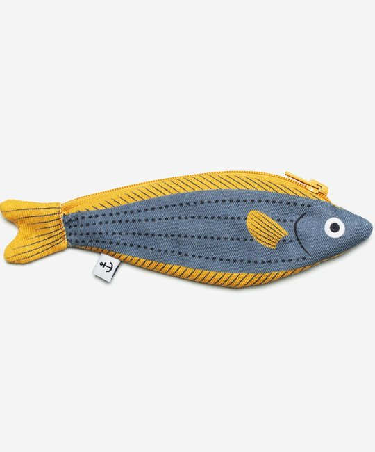 Don Fisher Don Fisher Blue Fusilier Fish Pouch