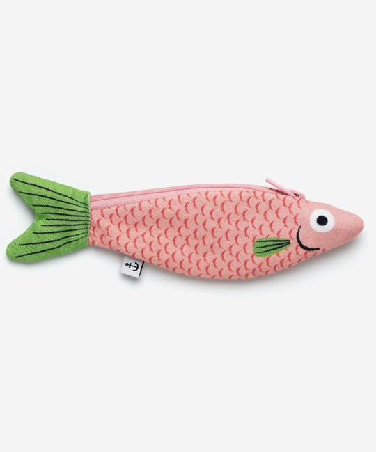Don Fisher - DF Don Fisher Pink Cardennal Fish Pouch