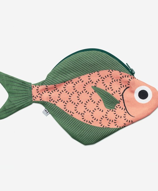 Don Fisher Don Fisher Pink Bigeye Emperor Fish Pouch
