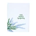 Smudge Ink - SI Lavender Sympathy Card