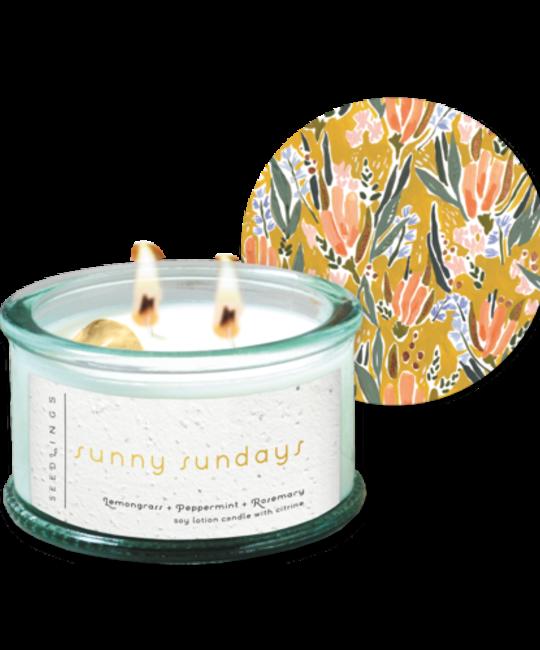 Seedlings - SED SED CALA - Sunny Sundays Candle