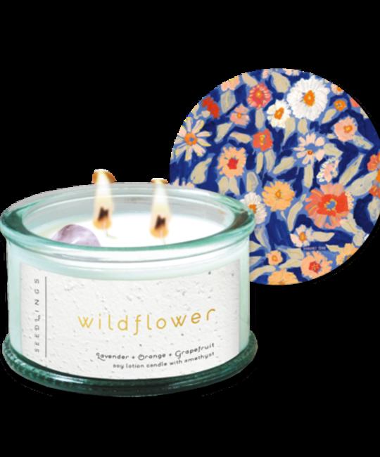 Seedlings - SED Seedlings Wildflower Candle
