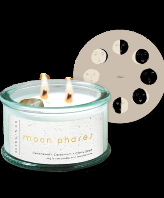 Seedlings - SED Seedlings Moon Phases Candle