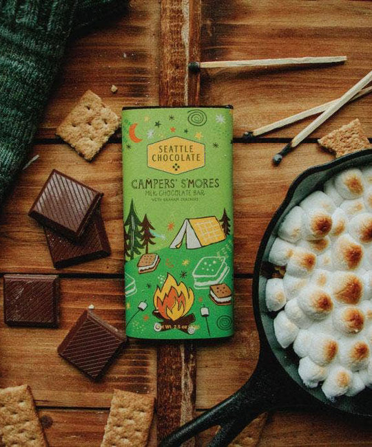 Seattle Chocolate - SC Seattle Chocolate - Campers' S'mores Truffle Bar