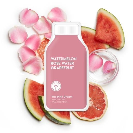 ESW Beauty Pink Dream Moisturizing Raw Juice Mask