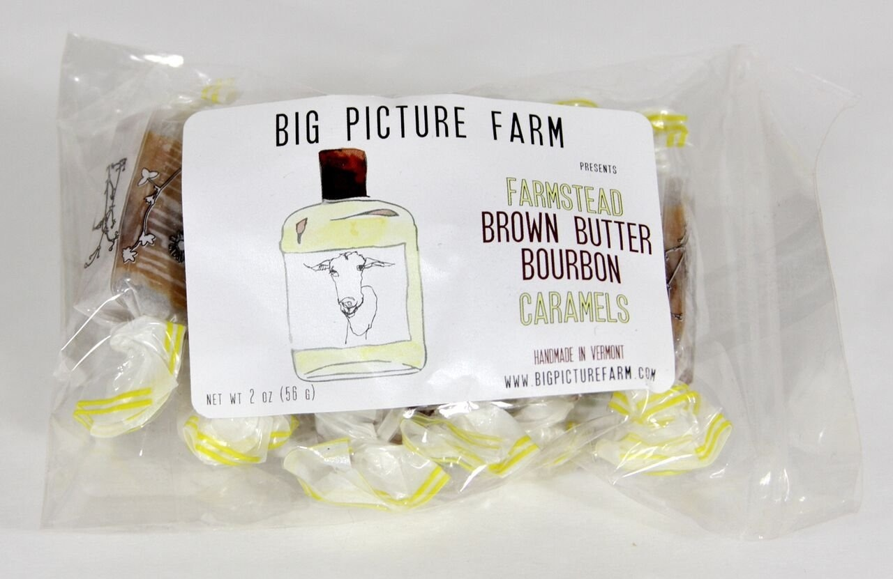big picture farm BPF FAD - Brown Butter Burbon Caramels