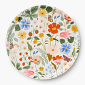 Rifle Paper Co - RP Rifle Paper Co- Strawberry Fields Round Tray
