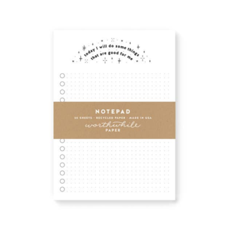Worthwhile Paper - WOP Good for Me Notepad