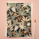 Elvira Van Vredenburgh Designs - EVV Black Tropical Botanic Card