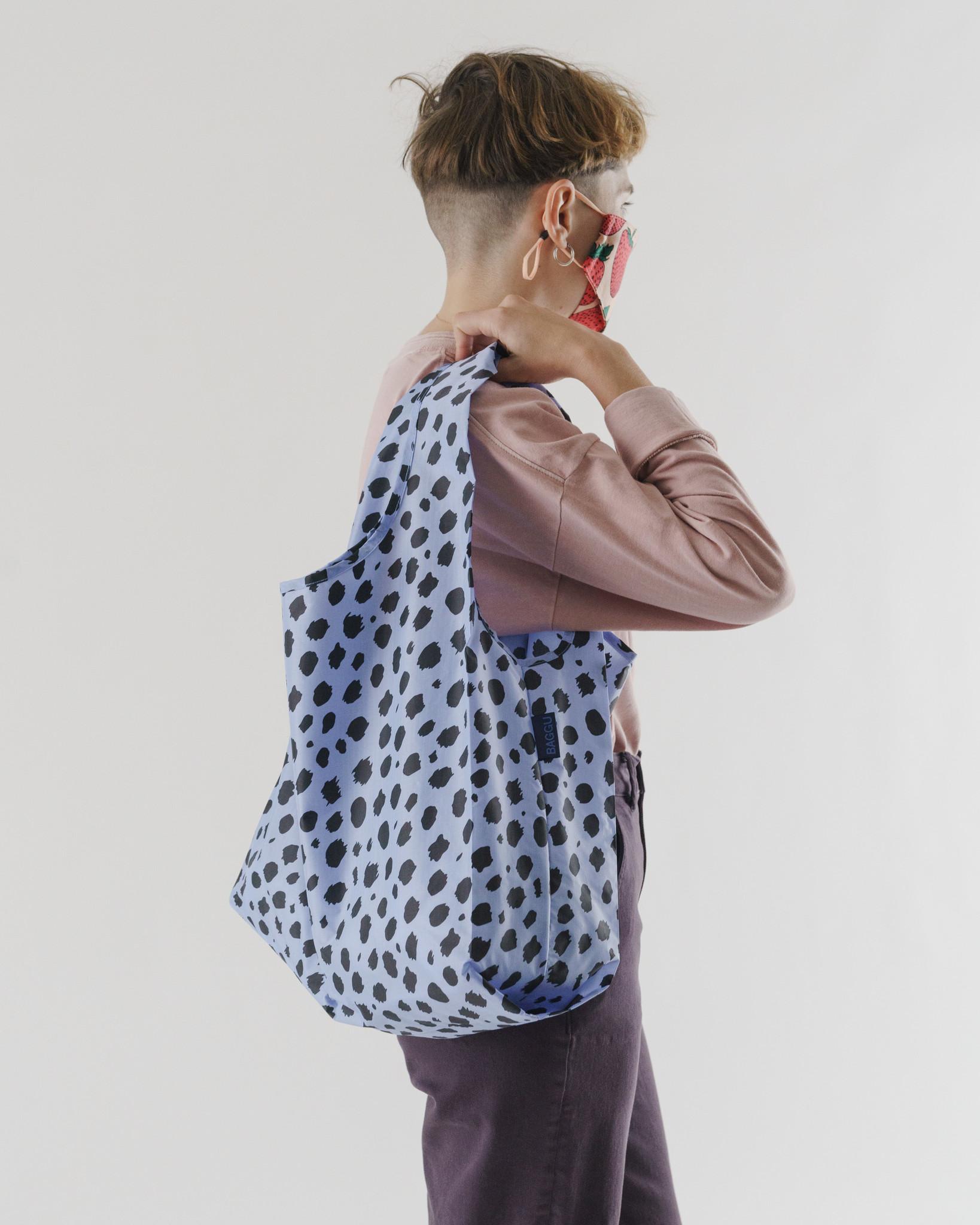 Baggu - BA Baggu Blue Cheetah Standard Baggu Reusable Bag