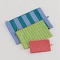Baggu - BA Baggu Afternoon Stripes Go Pouch, Set of 3