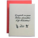 Ladyfingers Letterpress - LF Congrats on your Hetero-Normative Life Milestone Wedding Card