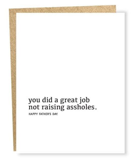 Sapling Press - SAP Great Job Father's Day Card