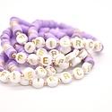 Hip Hope Hoorah - HH FIERCE Kid's Bracelet in lilac
