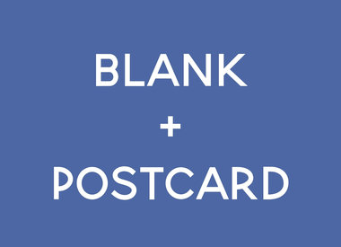 Blank + Postcard