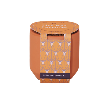 Modern Sprout - MOS Live Well Lavender Tiny Terracotta Kit