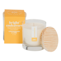 Bright Endeavors Lemongrass & Lime Glass Candle