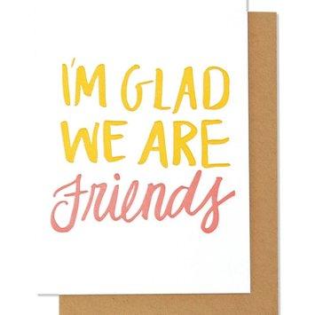 Thimblepress - TBP I'm so Glad We Are Friends Card