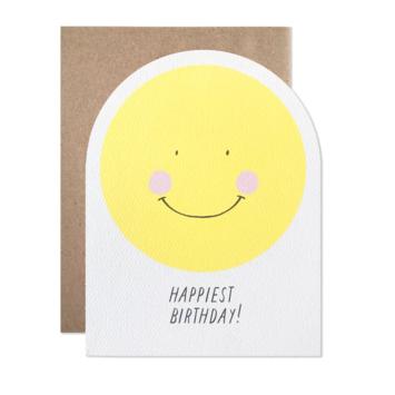 Hartland Brooklyn - HAR Happiest Birthday Smiley Face Card