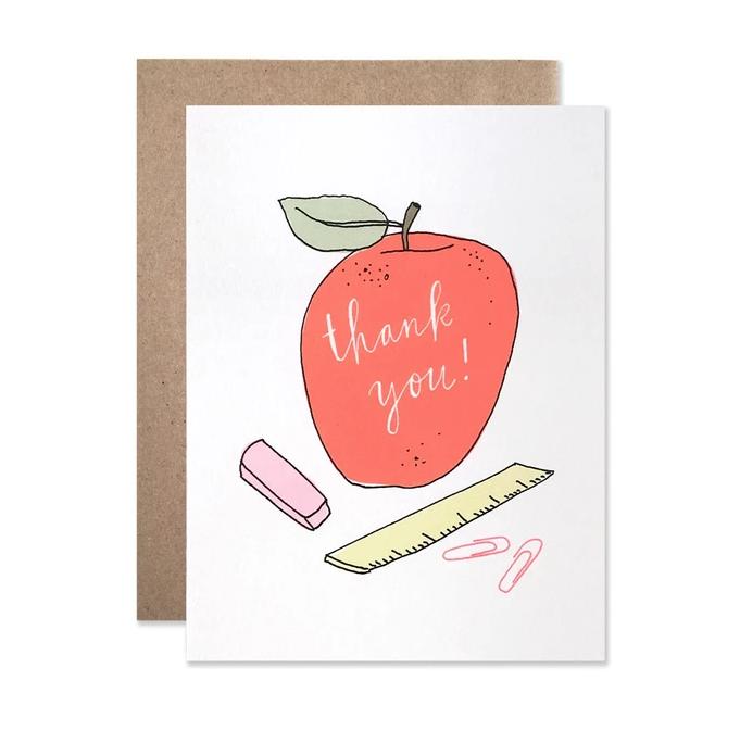 Hartland Brooklyn - HAR Teacher Apple Thank You Card