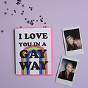 Ash + Chess - AAC Gay Way Love Card