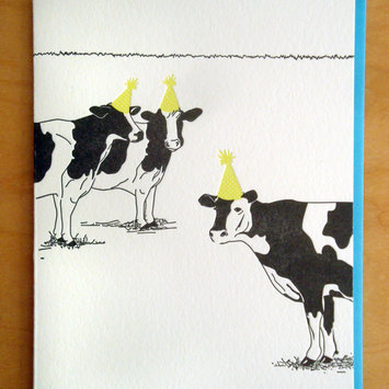 McBittersons - MCB Needs More Cowbell Birthday Card