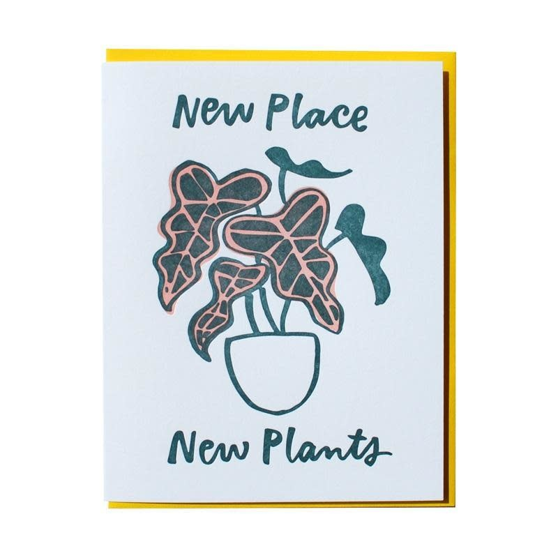 and Here We Are - AHW New Place New Plants Card