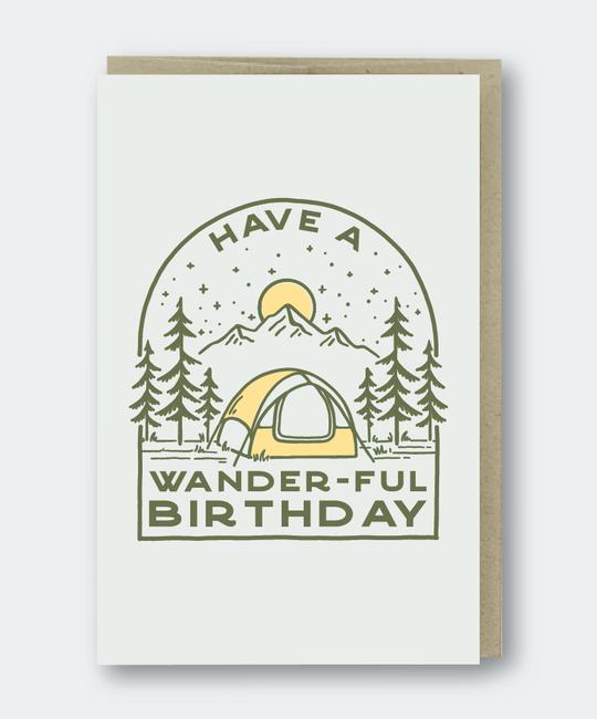 Pike Street Press - PSP Wander-ful Birthday Card