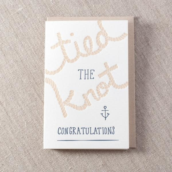 Pike Street Press - PSP Tied The Knot Card