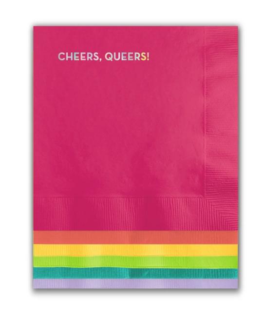 Sapling Press - SAP Cheers Queers Napkins