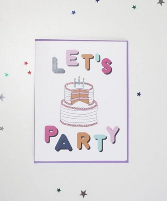 Ash + Chess - AAC Let's Party Card