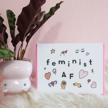 Ash + Chess - AAC Feminist AF Card