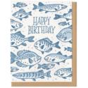 Frog & Toad Press Birthday Fish Card