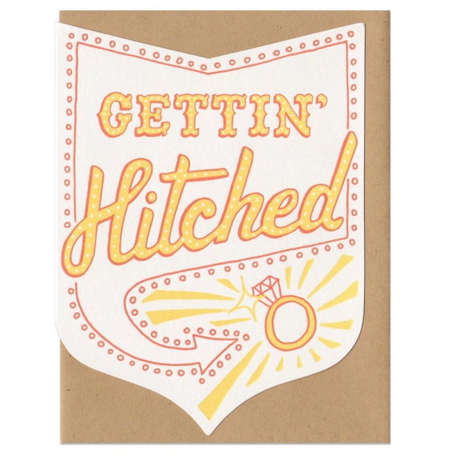 Frog & Toad Press - FT Gettin' Hitched Card