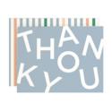 Amy Heitman Illustration - AHI Thank You Type Card