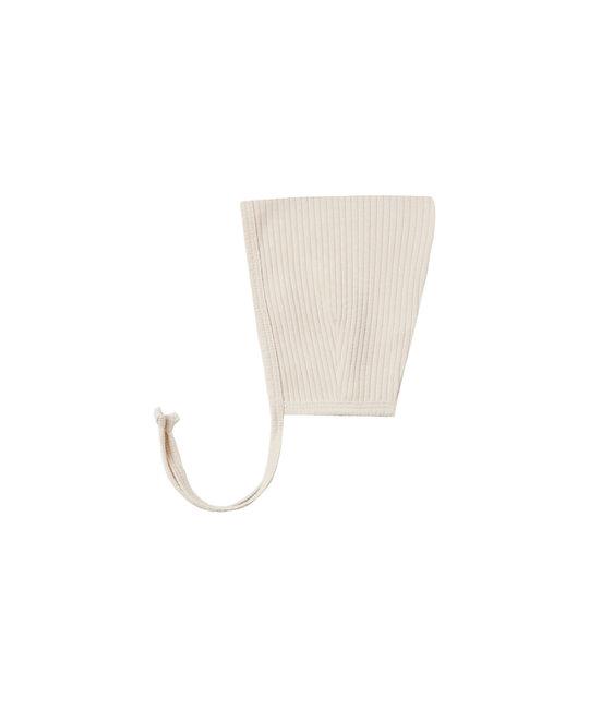 Quincy Mae - QM QM BA - Natural Ribbed Pixie Bonnet