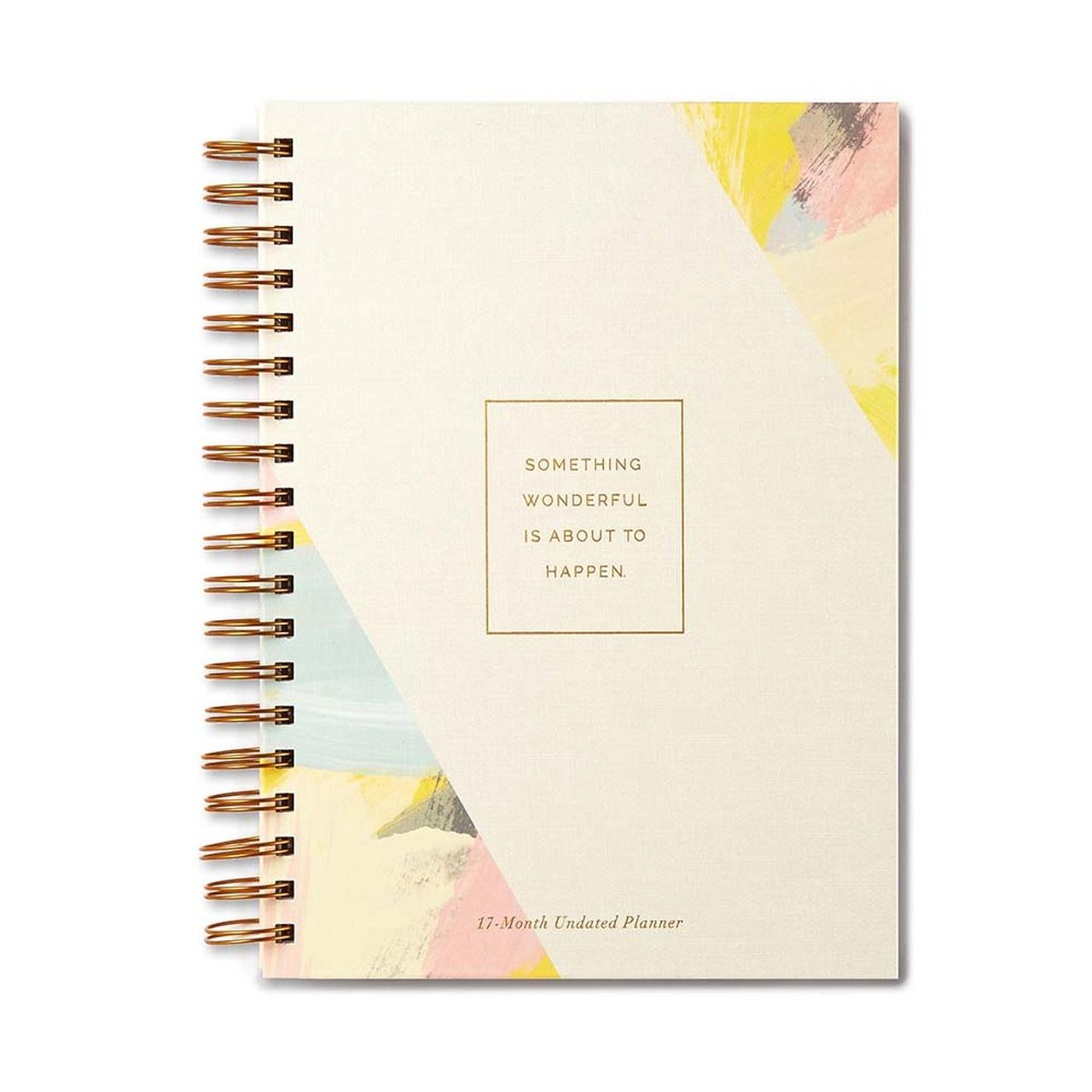 Compendium - COM COM AG - Something Wonderful 17-Month Undated Spiral-bound Planner