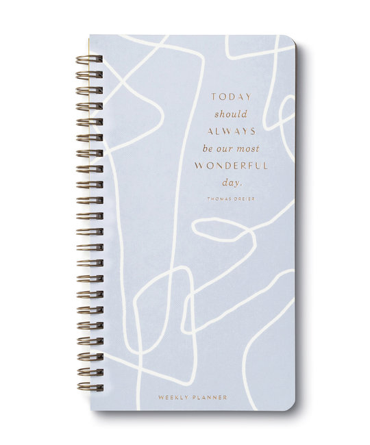 Compendium - COM COM AG - Wonderful Day 17-Month Undated Pocket Planner (scribble)