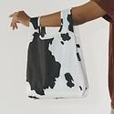 Baggu - BA BA BAG - Black and White Cow Baby Baggu Reusable Bag