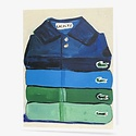 Carpe Diem - CD Lacoste Folded Stack of Shirts Card