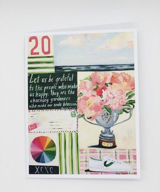 Carpe Diem - CD Charming Gardeners Card