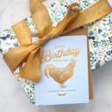 Bespoke Letterpress - BL Happy Birthday, You Old Cock Card