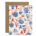 Bespoke Letterpress - BL Crustaceans Blank Card