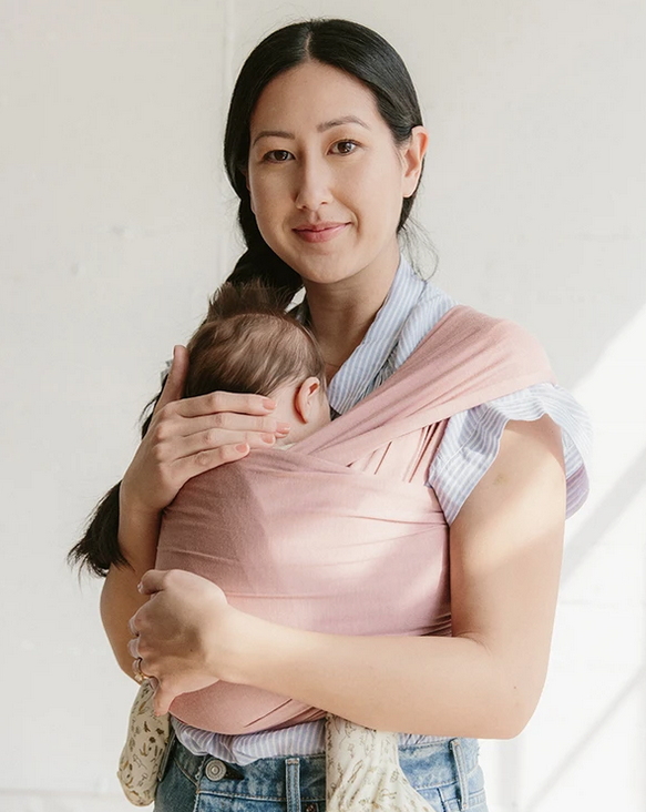 Solly Baby - SOB The Wrap in Austen (warm pink with mauve)