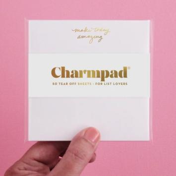 Inclosed Letterpress Co. Make Today Amazing Charmpad
