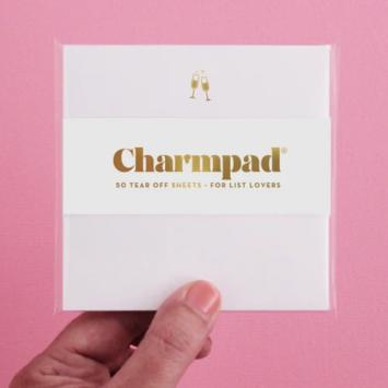 Inclosed Letterpress Co. Champagne Charmpad