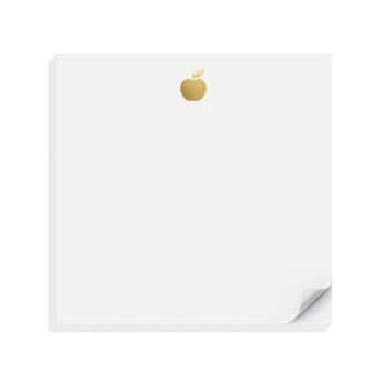 Inclosed Letterpress Co. Gold Apple Charmpad