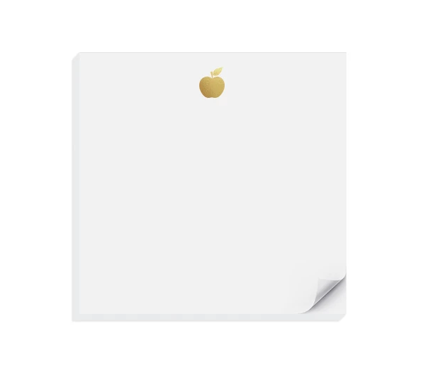 Inclosed Letterpress Co. - ICL Gold Apple Charmpad