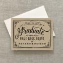 2021 Co. - 2021 School of Hard Work Graduate Card